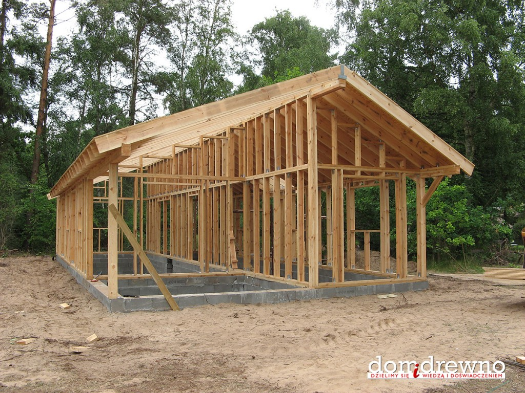 083 Konstrukcja Szkieletowa Domu Drewnianego Podstawy Domidrewno Pl
